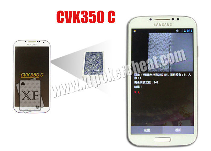 A Little Thin CVK350C Samsung Poker Card Analyzer Mini Wireless Know Result